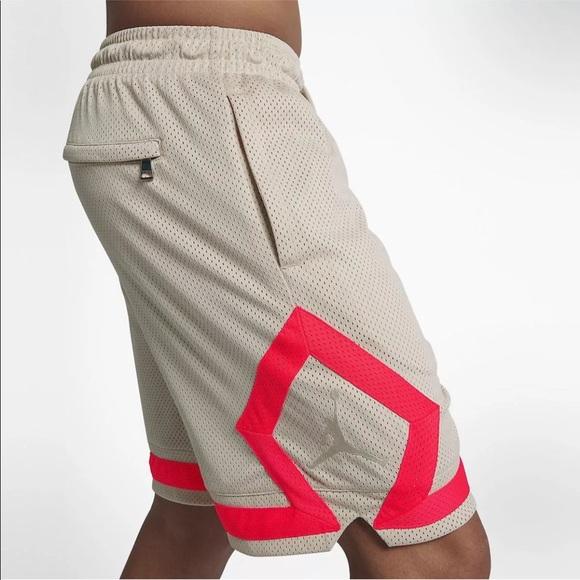 9cdf30e6770c7e Jordan diamond mesh basketball shorts